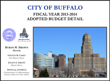 2013-14 Adopted Budget Cover
