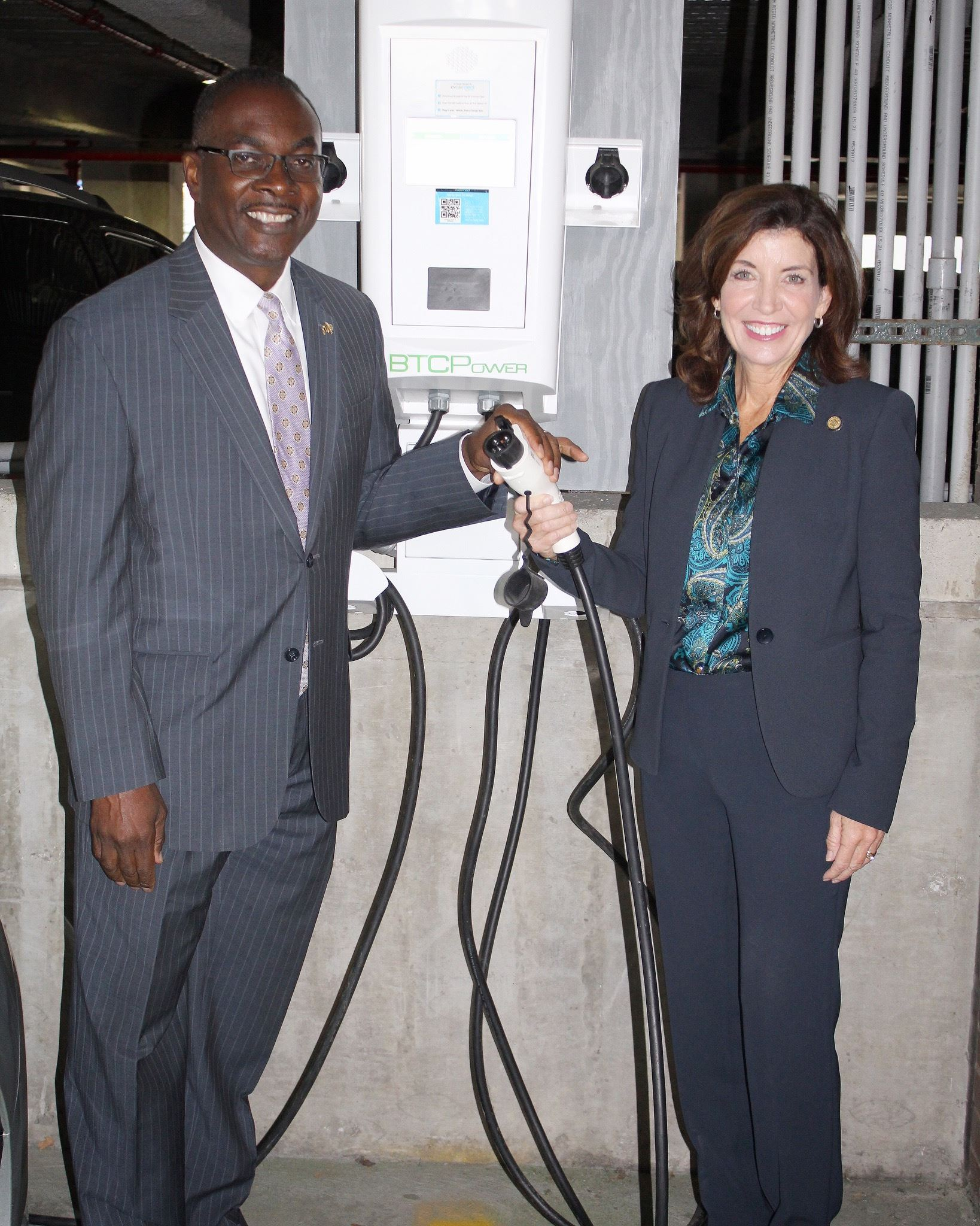 Electric charger stations conf