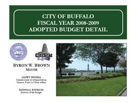2008-2009 Adopted Budget Cover