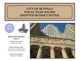 2011-2012 Adopted Budget Cover