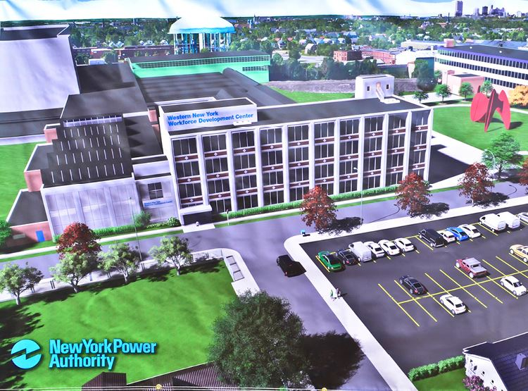 Northland Workforce ReDev Center Rendering