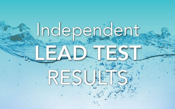 Independent Lead Test Results